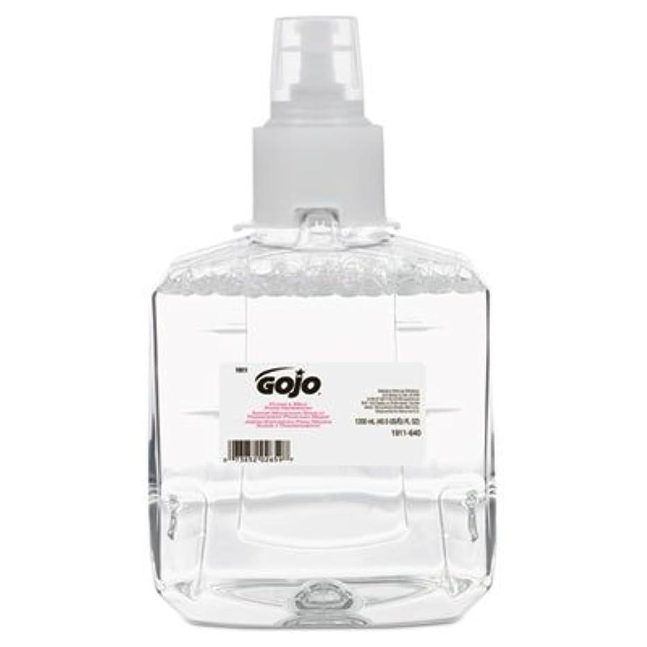 投げるライム打倒go-jo Industries 191102 CTクリアAmp ; Mild泡手洗いリフィル、抗、1200 ml詰め替え、2 /カートン