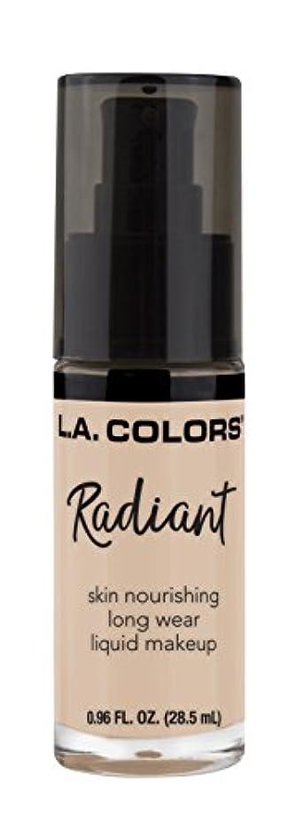 制約制約ディーラーL.A. COLORS Radiant Liquid Makeup - Ivory (並行輸入品)