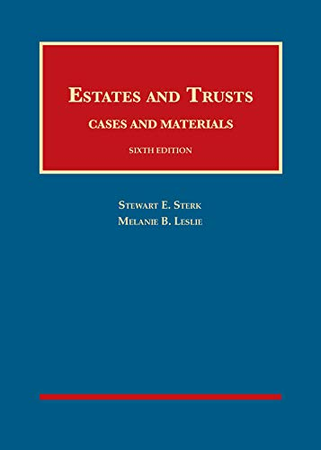 Download Estates and Trusts, Cases and Materials (University Casebook Series) 1642424919