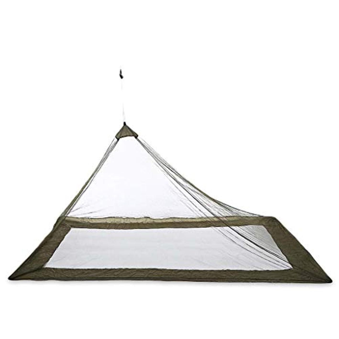 勤勉な夏多様体テント 超軽量キャンプテント屋外の蚊帳旅行コンパクトテント通気性メッシュキャンプベッド1人シングル夏のテント