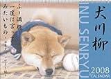 犬川柳 2008年カレンダー 画像