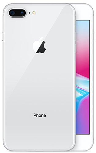 Apple 2017 iPhone 8 Plus SIMフリー 5.5インチ AR対応 【米国版SIMフリー】 (256GB, シルバー) [並行輸入品]