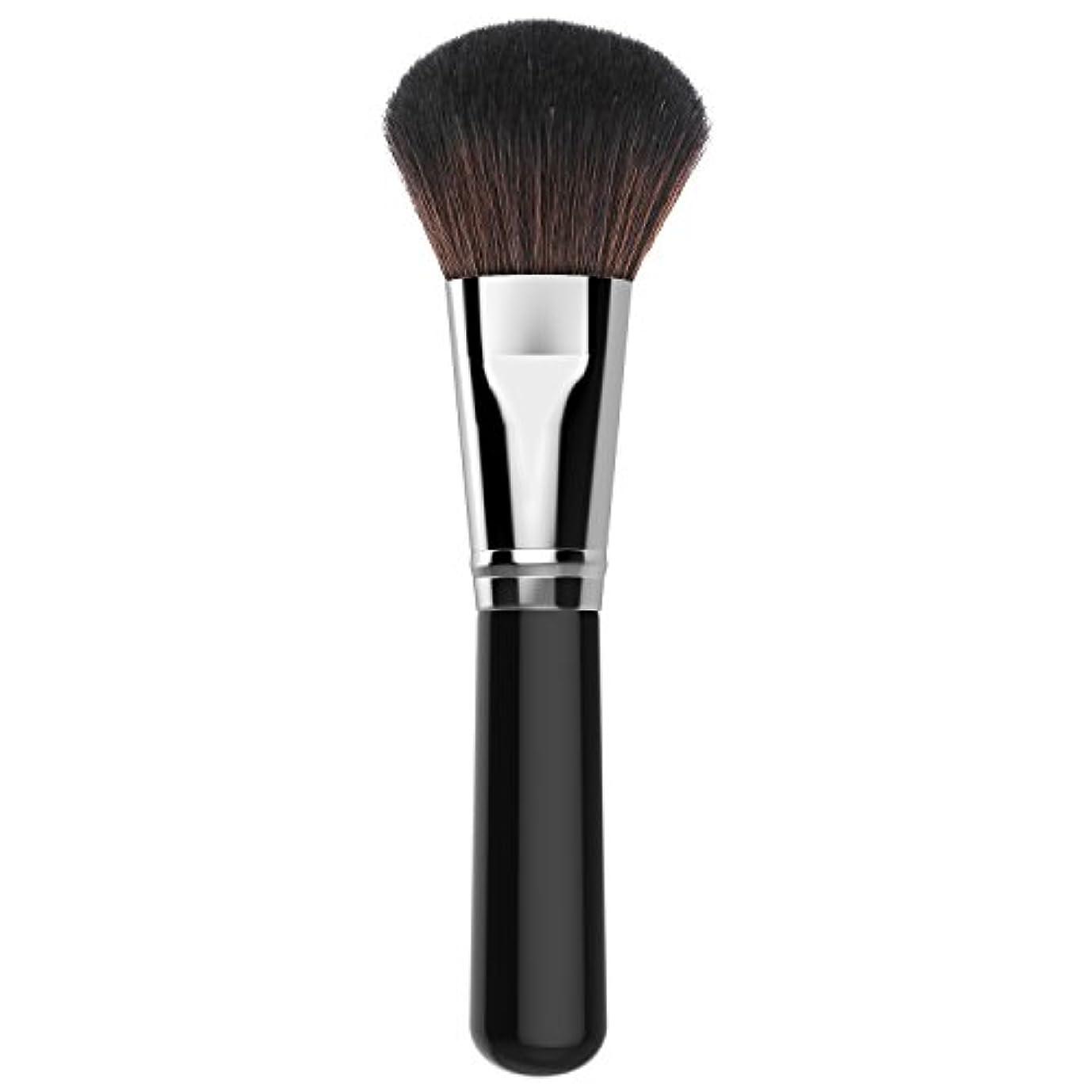 ファンデーションブラシ - Luxspire メイクブラシ 化粧筆 コスメブラシ 繊細な人工毛 毛質やわらかい 肌に優しい - Silver