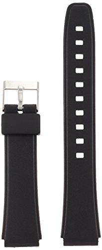 [해외][쿠레화] CREPHA 시계 벨트 17mm 우레탄 스프링 봉 공구 포함 블랙 KU-23/[CREPHER] CREPHA watch belt 17 mm urethane spring bar with tool black KU - 23