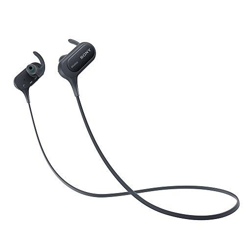 ソニー SONY ワイヤレスイヤホン MDR-XB50BS : 防滴/スポーツ向け Bluetooth対応 マイク付き ブラック MDR-...