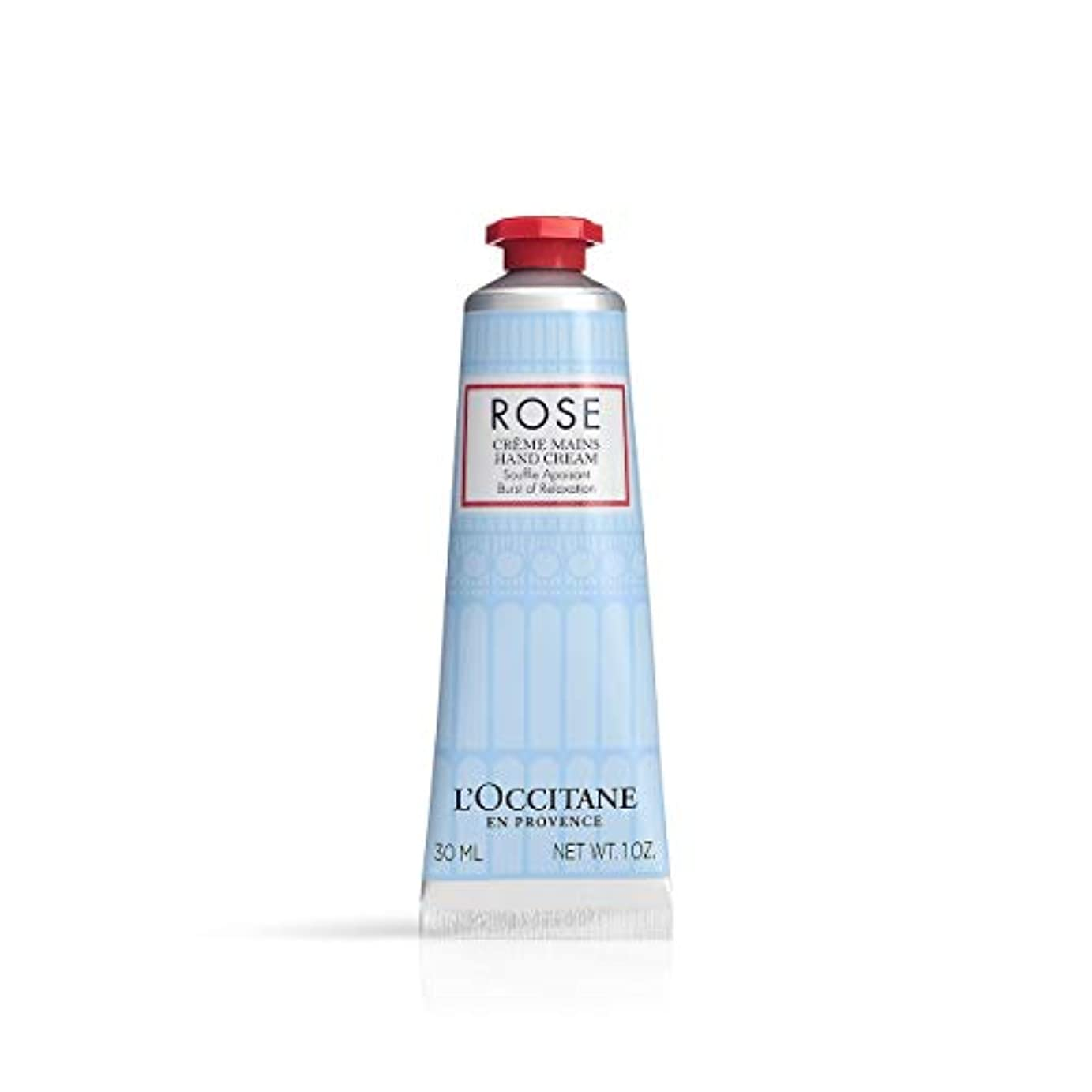 抽象利用可能エステートロクシタン(L'OCCITANE) ローズカモミール ハンドクリーム ボディクリーム アクアティックフローラル 30ml