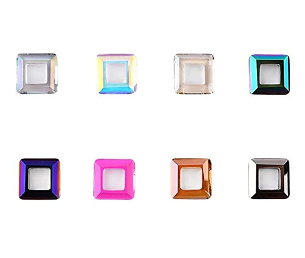 残高透けて見える名詞Tianmey ネイルアートクラフト用ガラスクリスタルラインストーン、クリスタル3Dデコレーションフラットバック?ストーンズ宝石広場