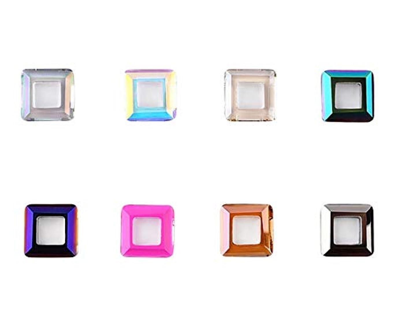 恩恵未使用年金受給者Tianmey ネイルアートクラフト用ガラスクリスタルラインストーン、クリスタル3Dデコレーションフラットバック?ストーンズ宝石広場