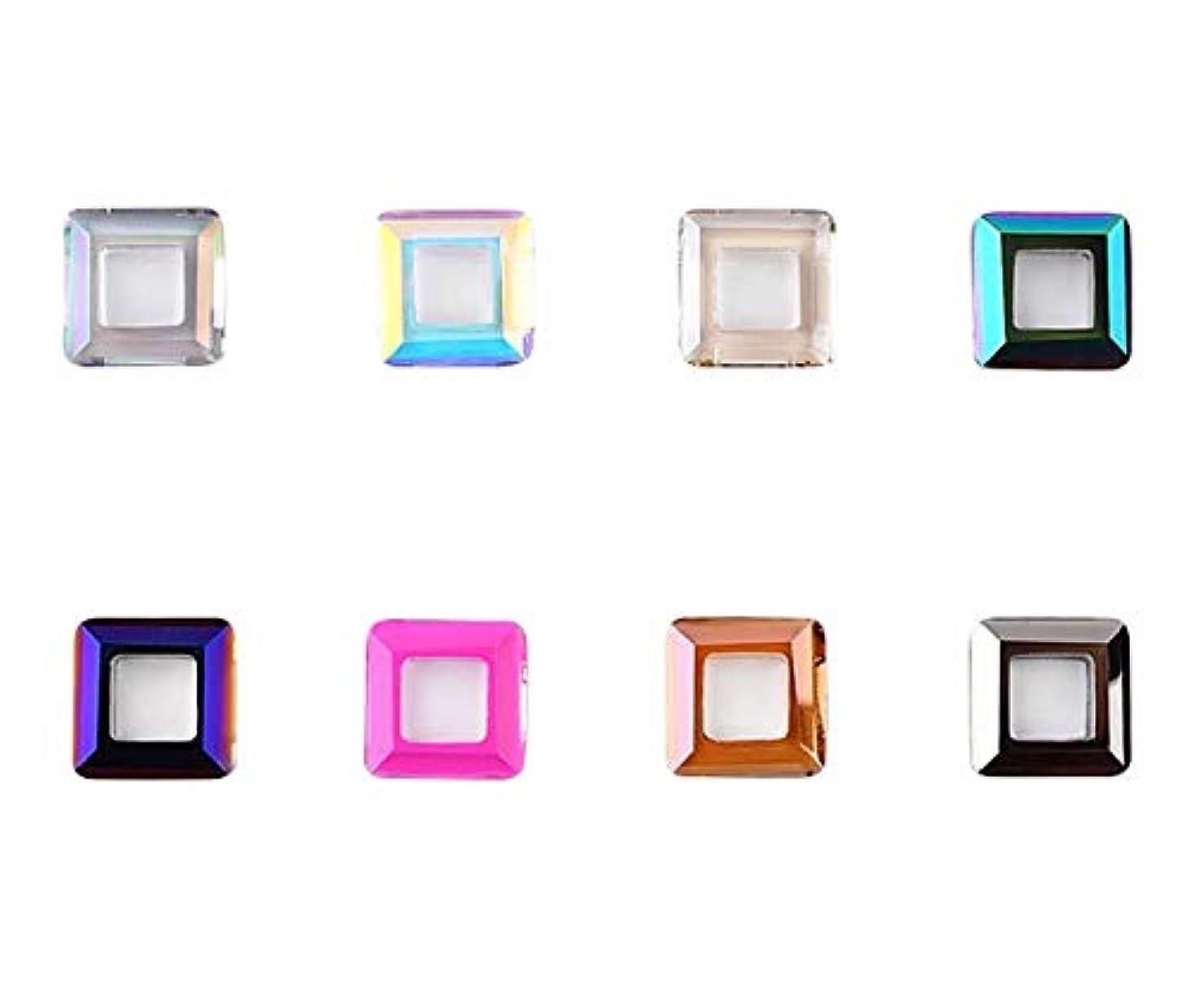 不要接続詞利用可能Tianmey ネイルアートクラフト用ガラスクリスタルラインストーン、クリスタル3Dデコレーションフラットバック?ストーンズ宝石広場