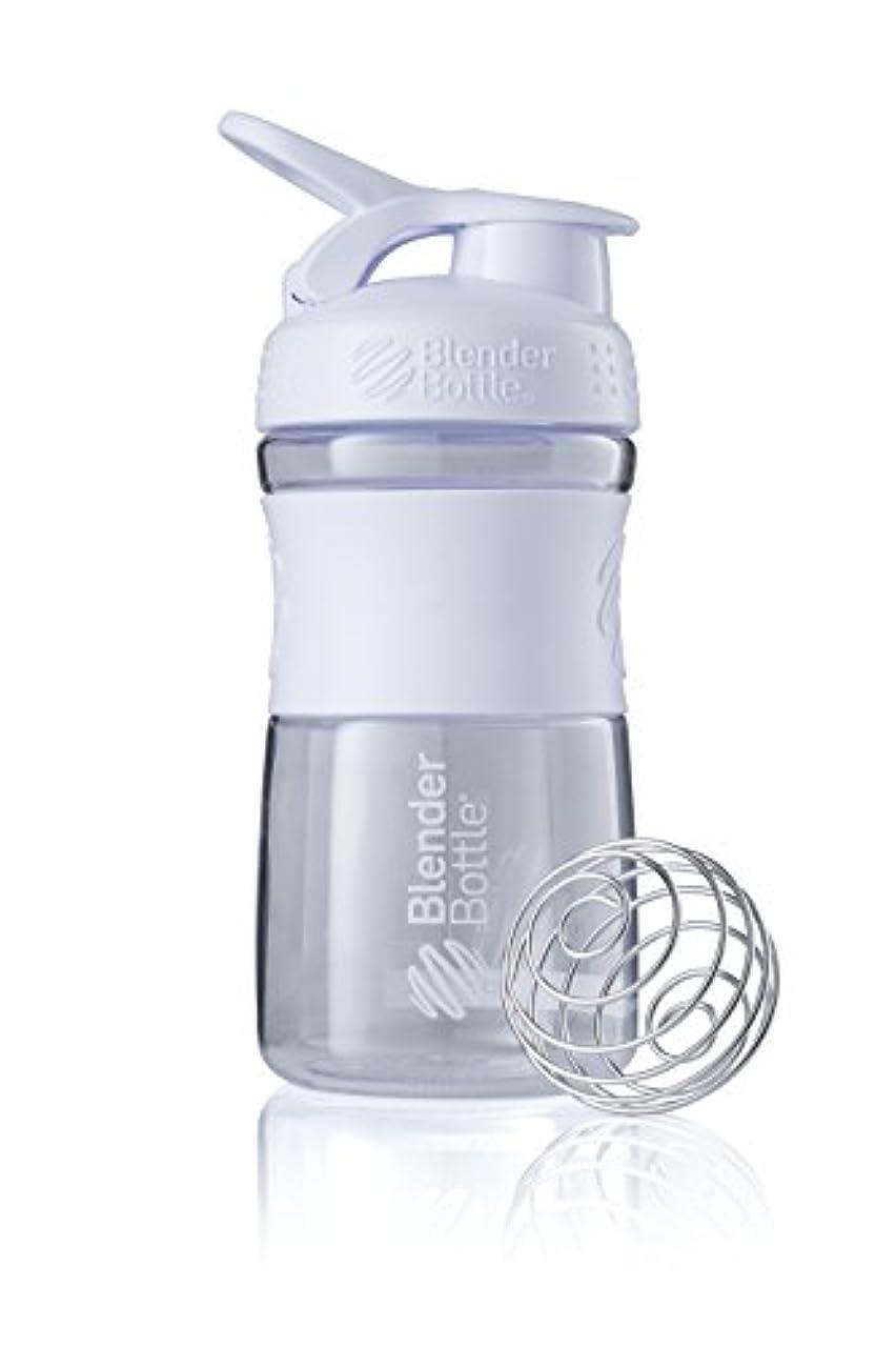 平均振りかける不名誉なブレンダーボトル 【日本正規品】 ミキサー シェーカー ボトル Sports Mixer 20オンス (600ml) ホワイト BBSME20 WH