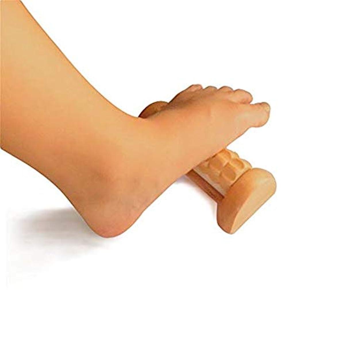 Foot Massager Roller - 足のARCHの痛み、足底筋膜炎、痛みのセルフマッサージと痛みを和らげます - 筋膜の弛緩、リラックスした緊張/タイトな筋膜およびアーチを刺激します
