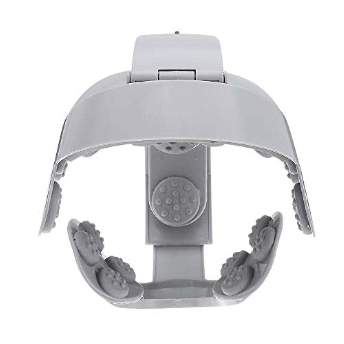 パノラマ迷路補償ACAMPTAR ヘッドバイブレーションマッサージ イージーブレインマッサージ 電動ヘッドマッサージ リラックス脳鍼ポイントストレスリリースマシン