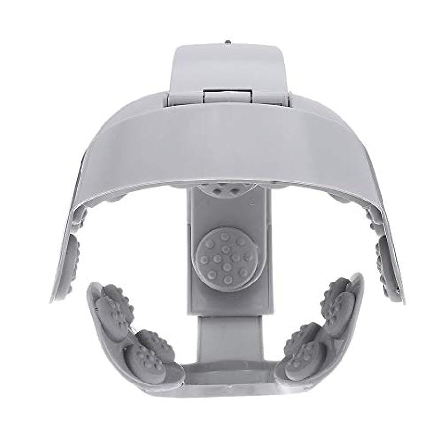 サーバ五十トラックACAMPTAR ヘッドバイブレーションマッサージ イージーブレインマッサージ 電動ヘッドマッサージ リラックス脳鍼ポイントストレスリリースマシン