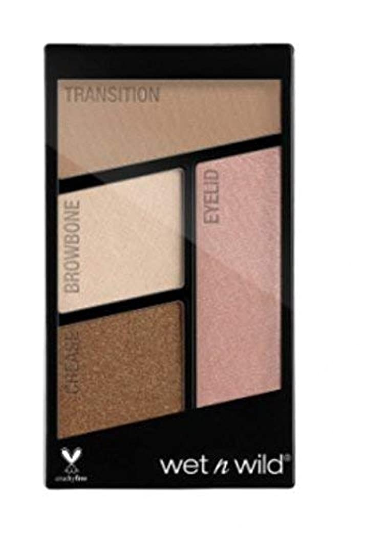 メタン憎しみフォーカスWET N WILD Color Icon Eyeshadow Quad - Walking On Eggshells (並行輸入品)