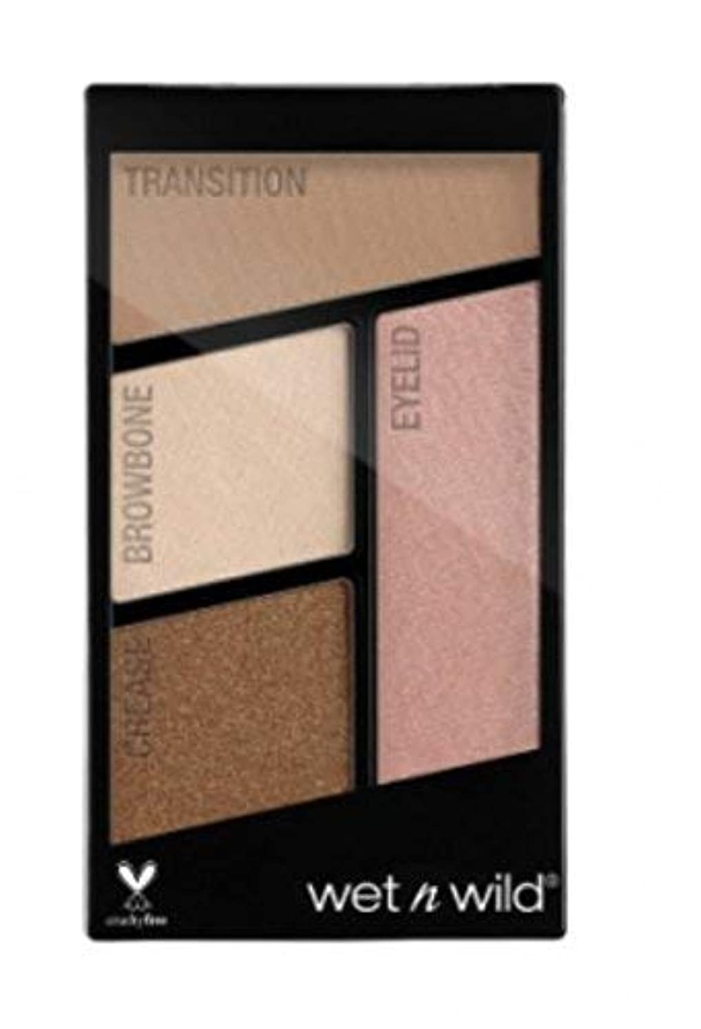 不十分ペット湖WET N WILD Color Icon Eyeshadow Quad - Walking On Eggshells (並行輸入品)