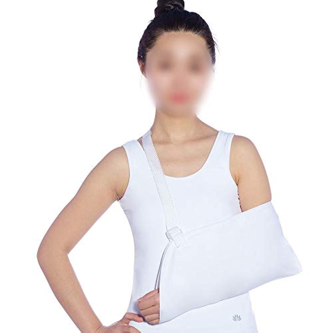 わかる聴覚障害者治安判事ZYL-YL メッシュ通気性の前腕ストラップリストストラップ骨折固定多機能アームバンドストラップ装具ツールアームスリング