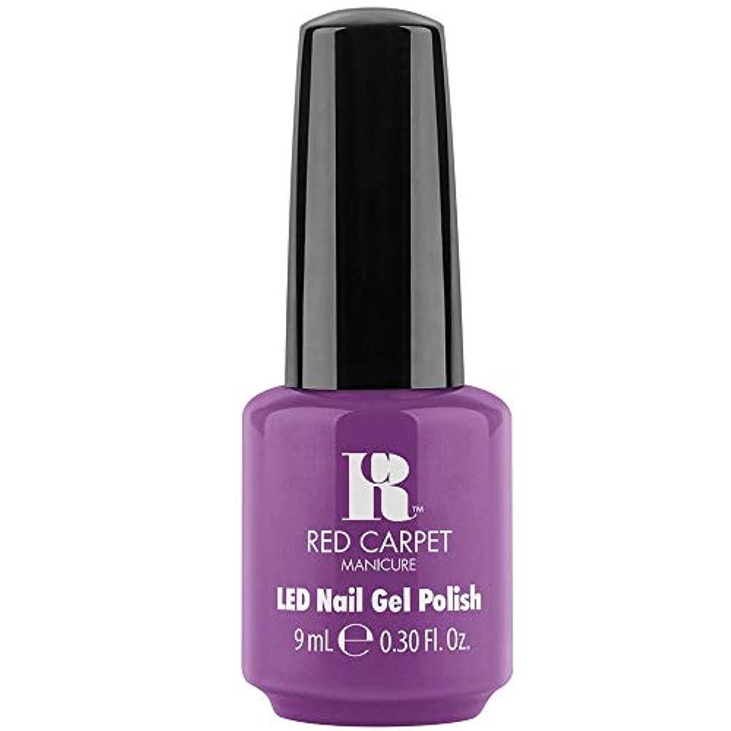 チラチラするキルトより平らなRed Carpet Manicure - LED Nail Gel Polish - Losing my Vanity - 0.3oz / 9ml