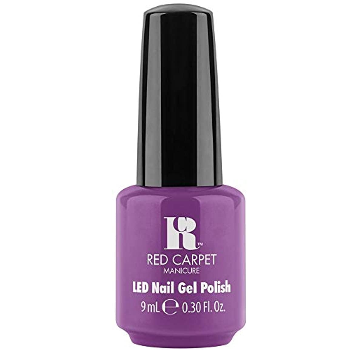 パズル推進、動かす穿孔するRed Carpet Manicure - LED Nail Gel Polish - Losing my Vanity - 0.3oz / 9ml