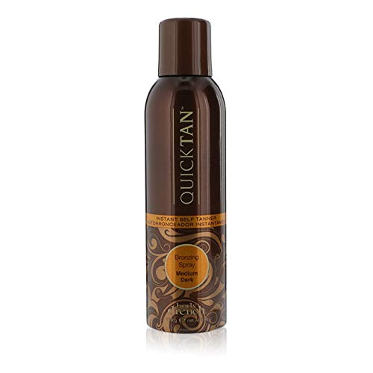 スカーフ乳剤昇るBODY DRENCH Quick Tan Bronzing Spray - Medium Dark