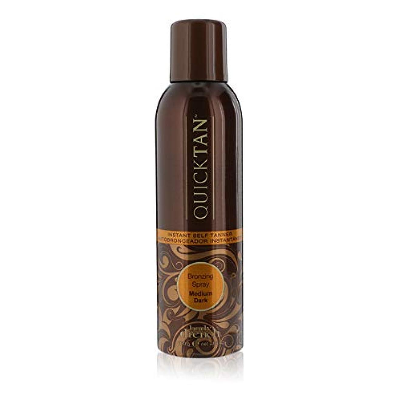 騒ぎ利得ルネッサンスBODY DRENCH Quick Tan Bronzing Spray - Medium Dark