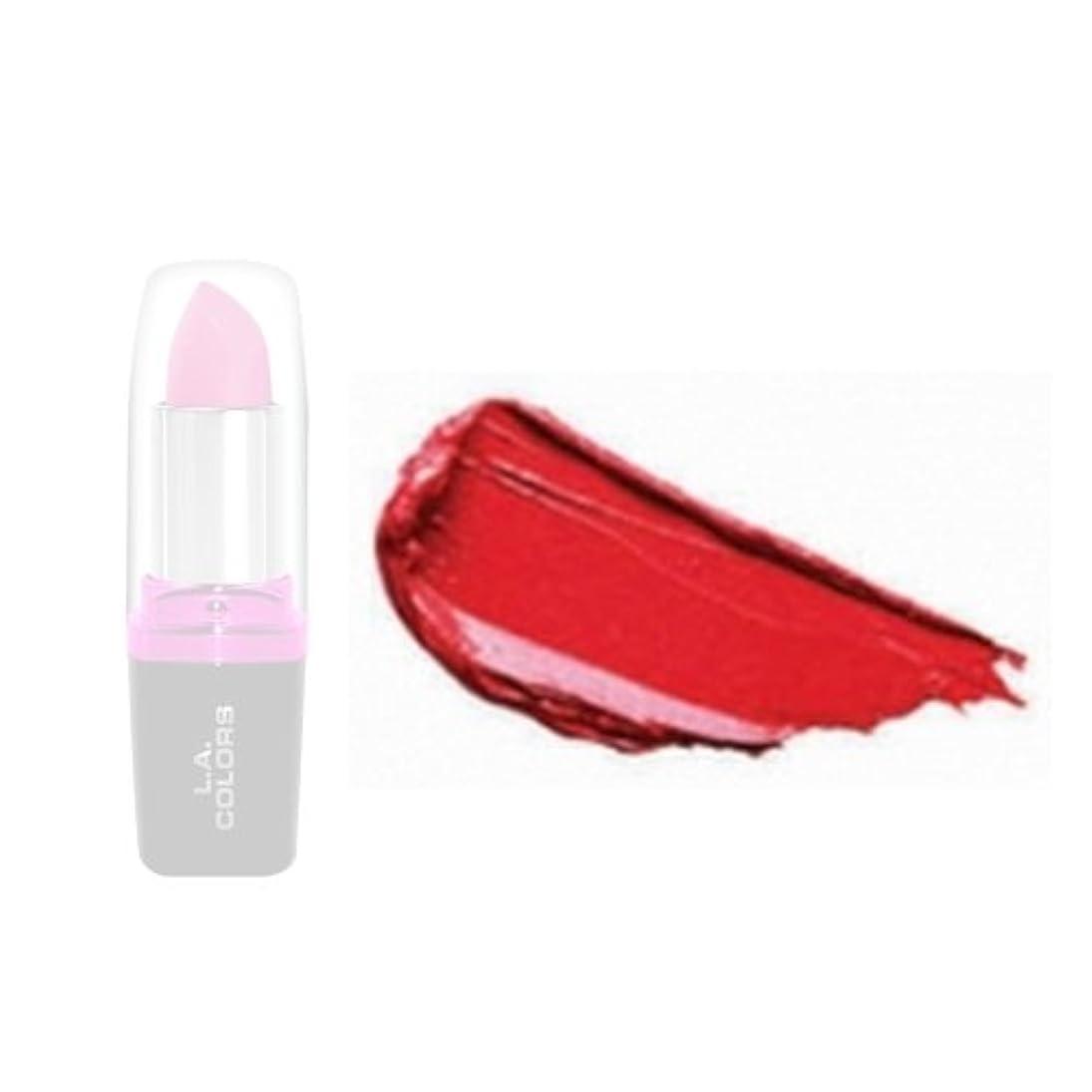 ストレスどちらか虫LA Colors Hydrating Lipstick - Wild Fire (並行輸入品)