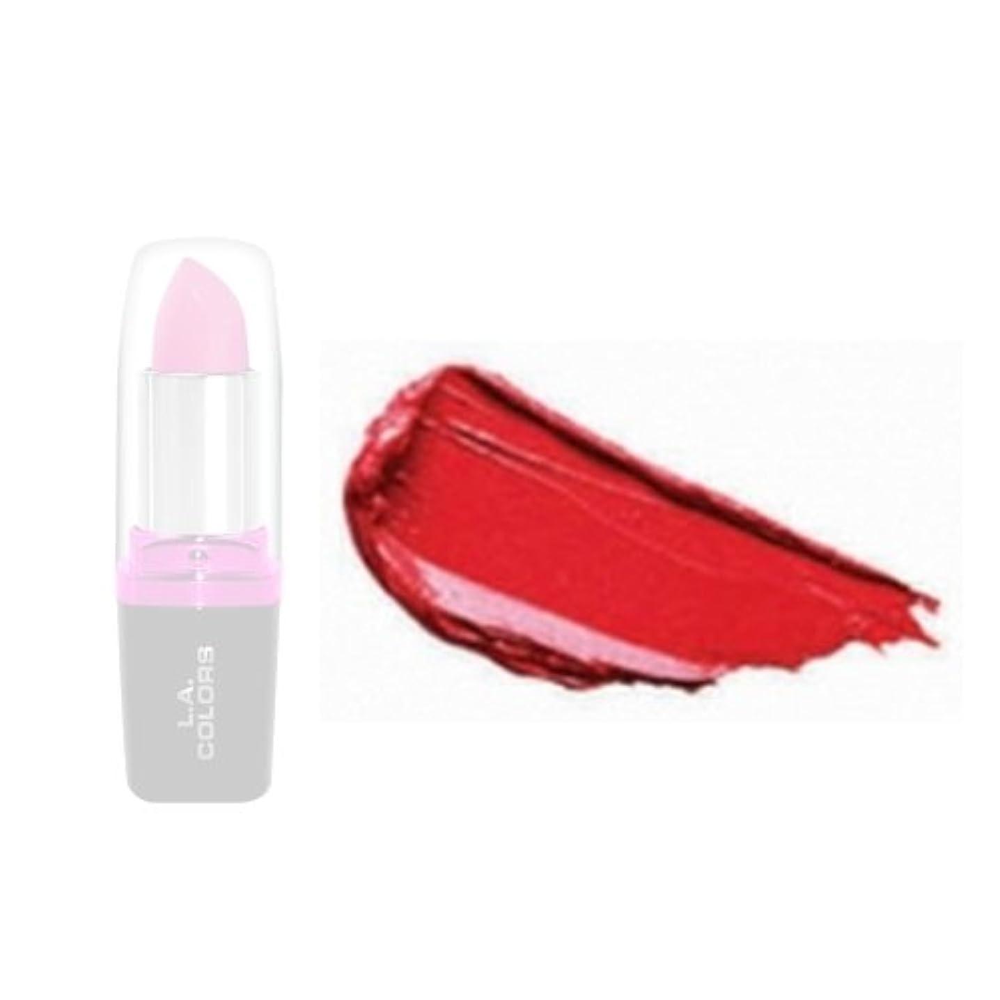 乳白色恵み固体LA Colors Hydrating Lipstick - Wild Fire (並行輸入品)