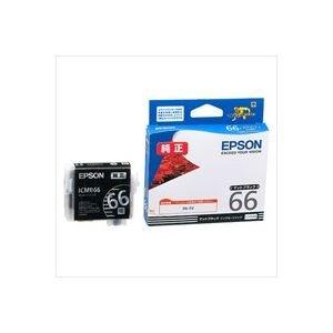 (業務用40セット) EPSON エプソン インクカートリッジ 純正 【ICMB66】 マットブラック(黒) AV デジモノ パソコン 周辺機器 インク インクカートリッジ トナー インク カートリッジ エプソン(EPSON)用 top1-ds-1730785-ak [簡易パッケージ品]