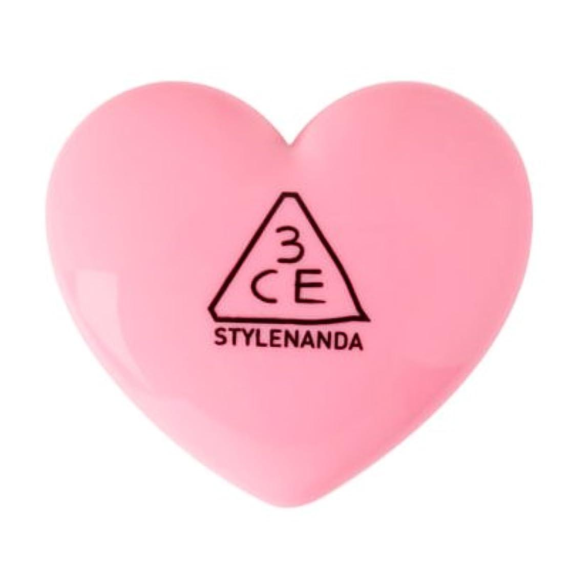 複雑懺悔輝度【国内発送】3CE HEART POT LIP ハートポットリップバーム (TINTED PINK)
