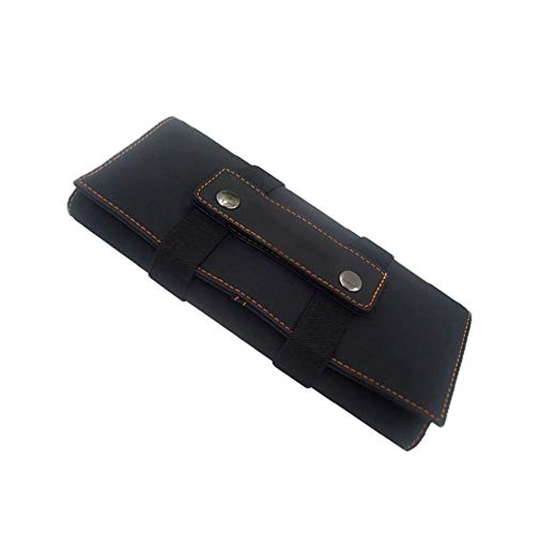子音検体実行黒い色のヘアスタイリストは大広間の美容院用具のホールダー袋のためのホールダーの袋の箱を切ります、 モデリングツール (色 : 黒)