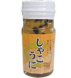 しゃこうに 100g×3瓶 大城海産物加工所 シャコ貝とウニの塩辛 沖縄の特産 海鮮珍味をお届け!ごはんのお供や、酒の肴に!
