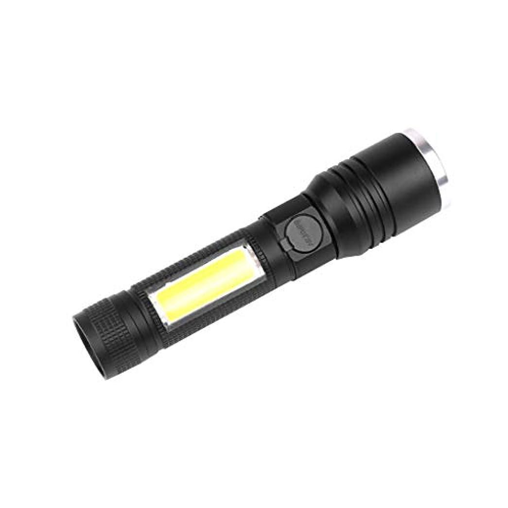 受け皿創傷赤面LED 懐中電灯 小型 持久 携帯安い USB充電 5モード ズーム可能 TangQI 18650電池 高性能 ハンディライト 高輝度 多用途 防塵 停電 地震 キャンプ 読書 ハイキング