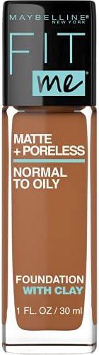 Maybelline Fit Me Matte & Poreless Mattifying Liquid Foundation - Warm Coconut