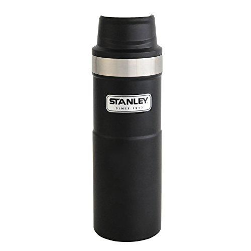STANLEY(スタンレー) クラシック真空ワンハンドマグII 0.47L ブラック 水筒 06439-016 (日本正規品)