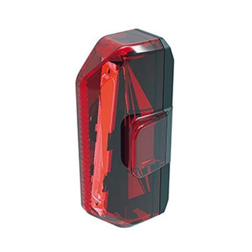 とげ幸運なことに有名人トピーク レッドライト エアロUSB 1W テールライト USB充電