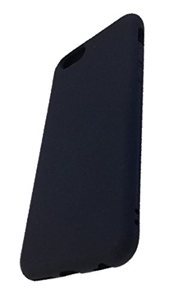 データ制裁インセンティブグルマンディーズ iPhone6対応 シリコンカバー ブラック IP6M-08BK