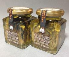 牡蠣くん製オリーブオイル漬け150g×2本【産直・同梱不可】