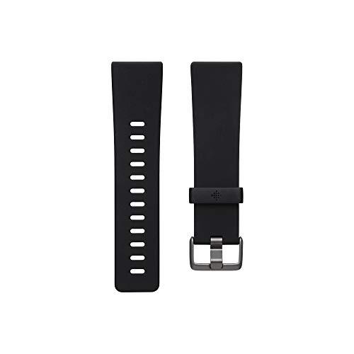 Fitbit Versaシリーズ専用 クラシックバンド Black Sサイズ [日本正規品] FB171ABBKS