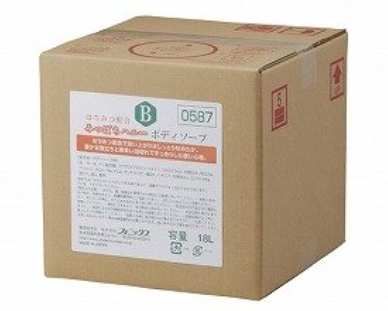 麺長方形挑むみつばちハニー ボディソープ/ 00090587 18L