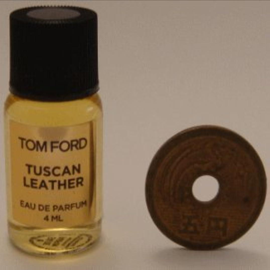 爪アデレード遅れTom Ford Private Blend 'Tuscan Leather' (トムフォード プライベートブレンド トスカン レザー) 4ml EDP ミニボトル (手詰めサンプル)