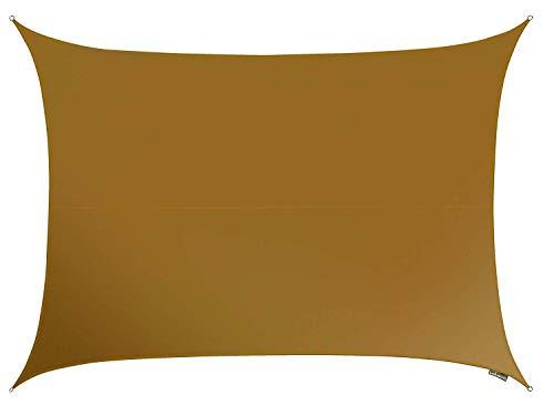 RoomClip商品情報 - クッカバラ日除けシェードセイル モカ色 4x3m長方形 紫外線98%カット 防水タイプOL3261REC