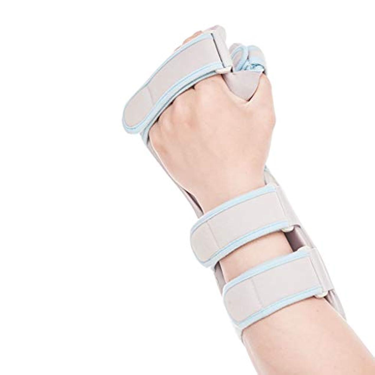 百科事典ウェイドファイバ引き金用の指の延長副木指のマレット指の指のナックル固定指の骨折創傷術後のケアと痛みを軽減する指サポートトレーニングブレース,Lefthand