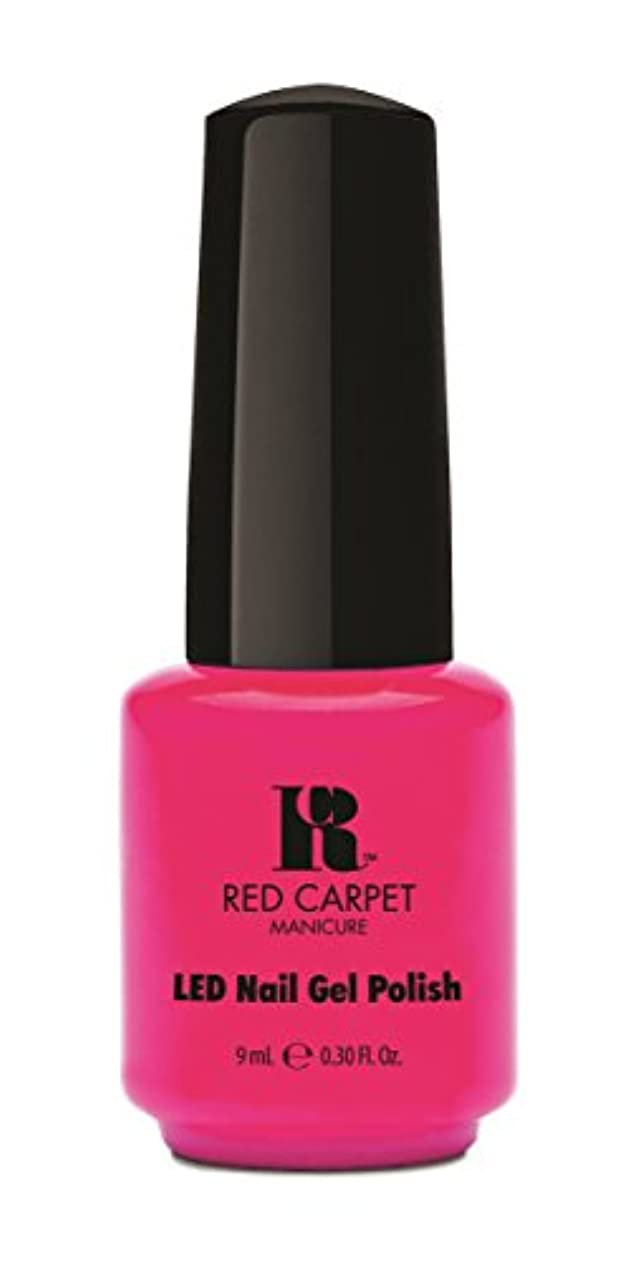 議論する工業化する歌手Red Carpet Manicure - LED Nail Gel Polish - My Main Beach - 0.3oz / 9ml