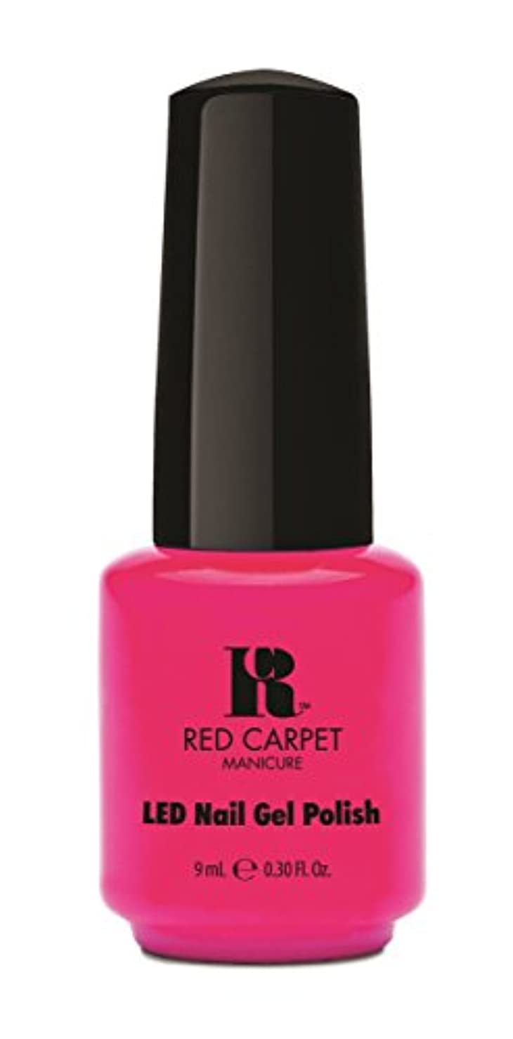 社会主義者ガレージレオナルドダRed Carpet Manicure - LED Nail Gel Polish - My Main Beach - 0.3oz / 9ml