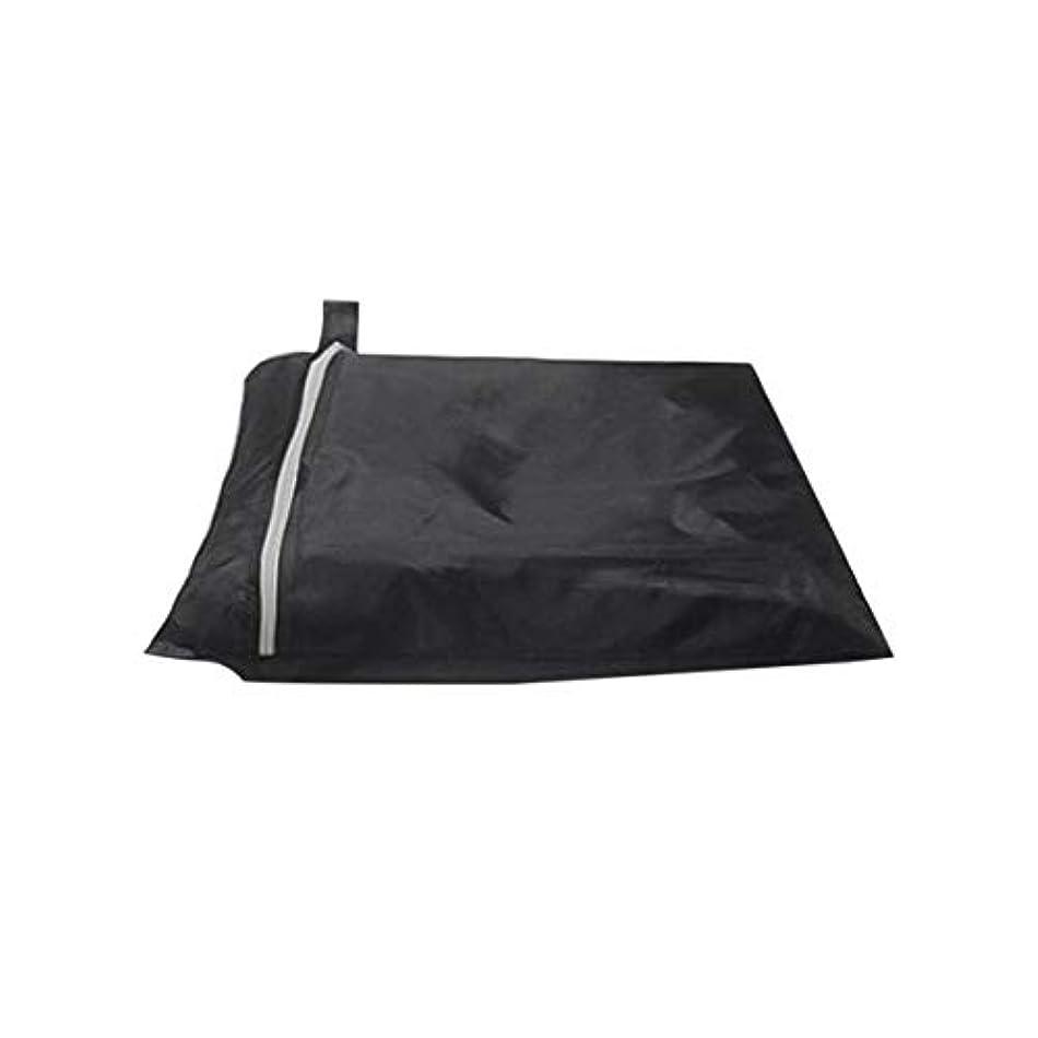 耳順応性のある賠償ガスバーベキューグリルのための防雨防水バーベキューカバー屋外ストレージ大型防塵190Tポリエステル保護カバー-ブラック170 * 61 * 117cm