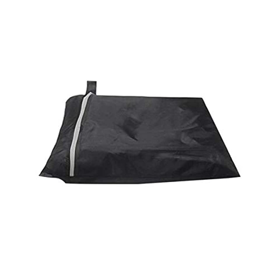 排出ながらセクションガスバーベキューグリルのための防雨防水バーベキューカバー屋外ストレージ大型防塵190Tポリエステル保護カバー-ブラック170 * 61 * 117cm