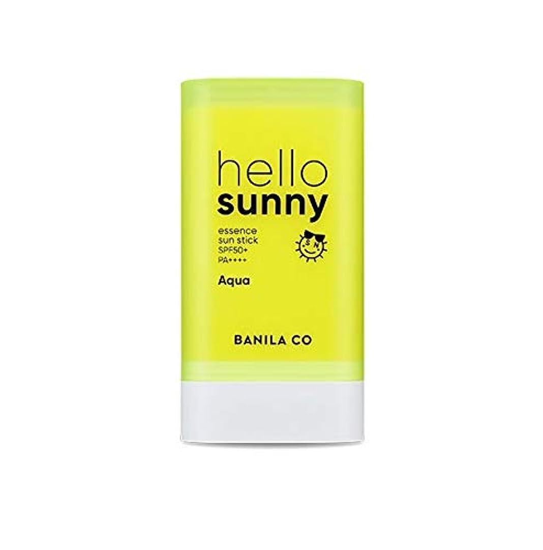 徹底的に枯れる裁判官banilaco ハローサニーエッセンスサンスティックアクア/Hello Sunny Essence Sun Stick-Aqua 20g [並行輸入品]