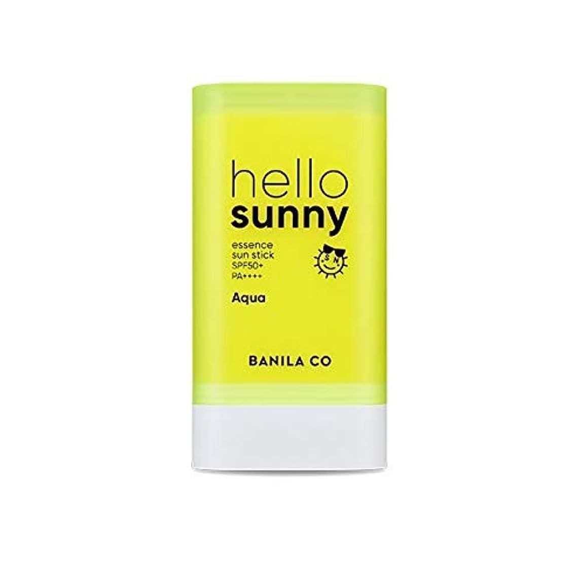 笑適合しました分注するbanilaco ハローサニーエッセンスサンスティックアクア/Hello Sunny Essence Sun Stick-Aqua 20g [並行輸入品]