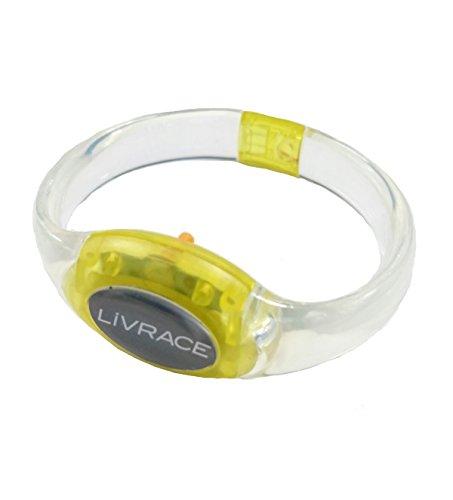 LIVRACE ライブレス LEDブレスレット イエロー