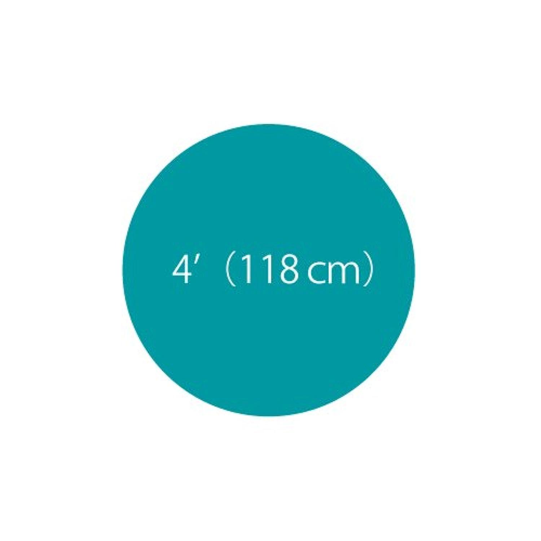 ゴム風船(ジャイアントバルーン)4フィート(直径120cm)アイランドブルー 1個/ロット