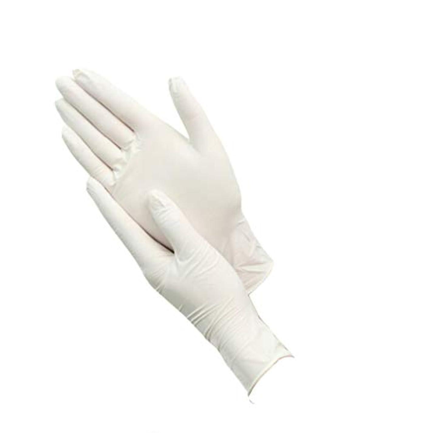 ランデブー強いビュッフェ使い捨て手袋グッド100グラム増量ニトリルブタジエンゴム (サイズ さいず : XL)